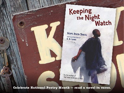 Sarah Tregay's List of Novels In Verse: Middle Grade Keeping the night Watch