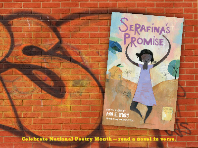 Sarah Tregay's List of Novels In Verse: Middle Grade Serafina's Promise