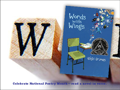 Sarah Tregay's List of Novels In Verse: Middle Grade Words with Wings