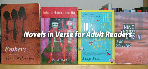 Sarah Tregay's List of Novels in Verse for Grown-ups / Adult Readers