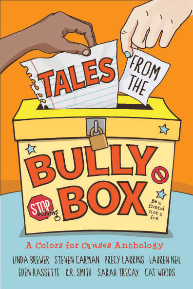 Elephant's Bookshelf press Tales from the Bully Box book cover by Sarah Tregay