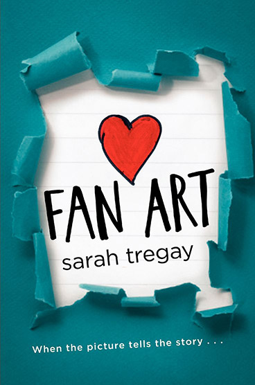 Fan Art, a sweet YA LGBT romance by Author Sarah Tregay