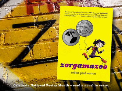 Sarah Tregay's List of Novels In Verse: Middle Grade Zorgamazoo
